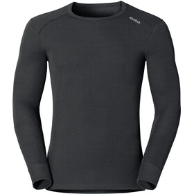 Odlo Warm Crewneck Longsleeve Heren, black